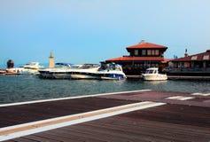 Port Nessebar Stock Photos