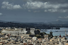 Port and new Venetian fortress Stock Photos