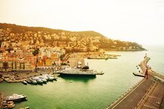 Port of Nice Royalty Free Stock Photography
