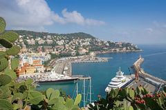 Port of Nice, Cote d Azur Royalty Free Stock Image