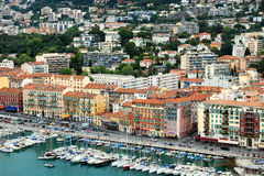Port of Nice, Cote d'Azur, France Stock Images