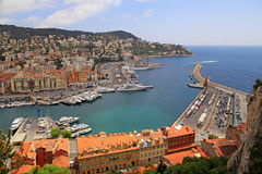 Port of Nice, Cote d'Azur, France Royalty Free Stock Images