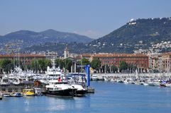 Port of Nice in France Royalty Free Stock Image