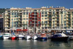 Port of Nice in France. In the Alpes Maritimes Stock Photography