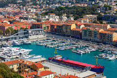Port of Nice, France. Royalty Free Stock Photography