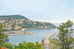 The Port of Nice Royalty Free Stock Images