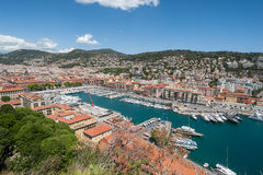 Port of Nice, France Royalty Free Stock Images