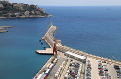 Port of Nice, French Riviera, France Stock Image