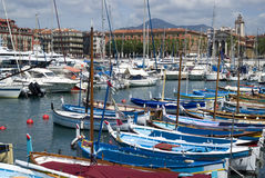 Port of Nice, French Riviera Stock Image