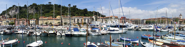 Port of Nice, French Riviera Stock Photography