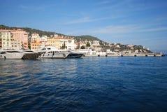Port of Nice, Promenade des Anglais, sea, sky, water, coast. Port of Nice, Promenade des Anglais is sea, coast and coastal and oceanic landforms. That marvel has royalty free stock photos