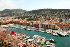 Port of Nice Stock Image