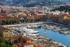 Port of Nice royalty free stock photos
