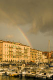 Port of Nice after the storm Stock Images