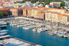 Port of Nice Stock Photo