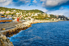 Port of Nice Stock Images