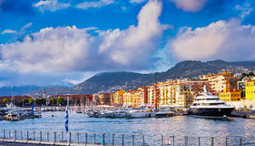 Port of Nice Royalty Free Stock Photo