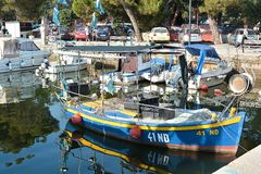 Port of Novigrad Royalty Free Stock Photography