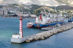 Port Novorossiysk Zdjęcie Stock