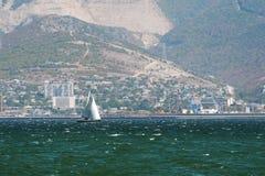 Port of Novorossiysk September 2014. Black Sea Stock Photo