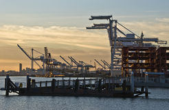 Port of Oakland Royalty Free Stock Photography