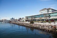 Port of Oakland - Oakland, California, USA Royalty Free Stock Photo