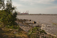 Port och reservation Royaltyfria Bilder
