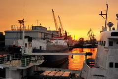 Port of Odessa Royalty Free Stock Photography