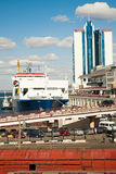 Port of Odessa. Stock Images