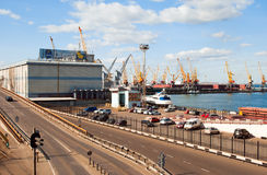 Port of Odessa. Stock Photo