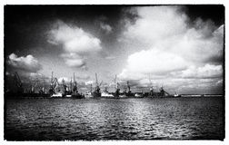 Port Odessa Fotografia Royalty Free