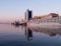 Port of Odessa Stock Photo