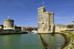 Port Of La Rochelle Royalty Free Stock Photos