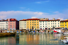 Port Of Livorno Royalty Free Stock Photography