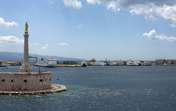 Port Of Messina Stock Photography