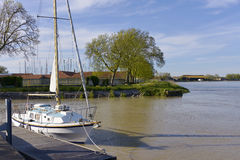 Free Port Of Rochefort In France Stock Photos - 90478613
