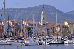 Free Port Of Sanary-sur-Mer In France Royalty Free Stock Photos - 42362758