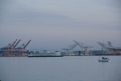 Port Of Seattle Shipping Royalty Free Stock Photography