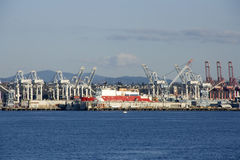 Port Of Seattle Shipping And Cargo Royalty Free Stock Photos