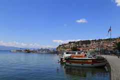 Port Ohrid Stock Photo