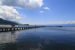 Port Ohrid Royalty Free Stock Photos