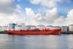 Port ol tanker Royalty Free Stock Image