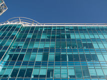Port olimpic barcelona. Modern building at Olimpic port in Barcelona, Spain Royalty Free Stock Photo