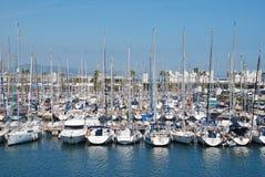 Port Olimpic, Barcelona stock images