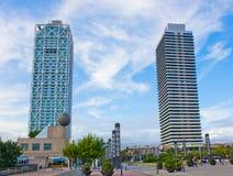 Port Olympic, Barcelona, Spain Stock Image
