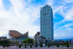 port Olympic , Barcelona, Spain Royalty Free Stock Photography