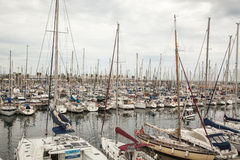 Port Olympic , Barcelona, Spain Royalty Free Stock Photos