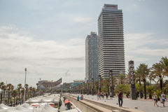 Port Olympic, Barcelona, Spain Stock Photo