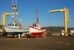 Port Orford Royaltyfria Bilder