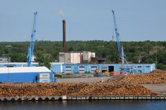 Port of  Oskarshamn Royalty Free Stock Photo